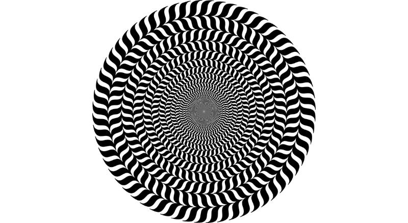 optische illusie cirkel